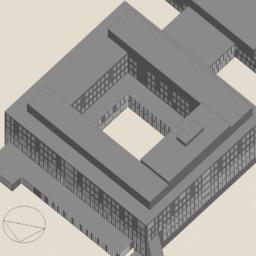 Visualisatie van de belemmeringen in de nieuwbouw Tergooi bouwdeel A voor het bepalen van de invloed van schaduw